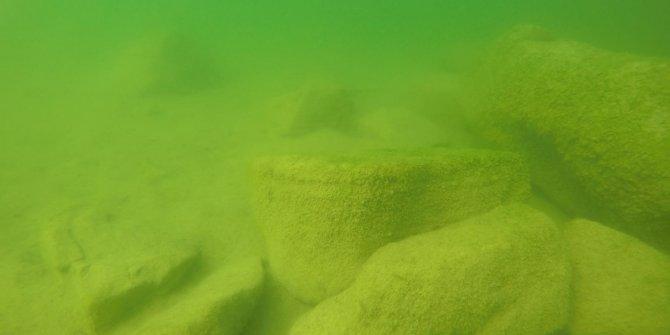 Arkeolog balık adamları şaşkına çeviren keşif.Ordu Fatsa'da gölün 15 metre altında kilise bulundu