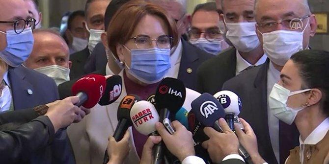 Meral Akşener, Özdağ ve Çıray'ın sözleri sonrası ilk kez konuştu
