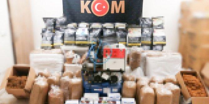 Eskişehir'de ele geçirildi, tam 474 kilo kaçak tütün