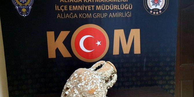 İzmir'de baskında ele geçirildi. Binlerce yıllık olduğu ortaya çıktı