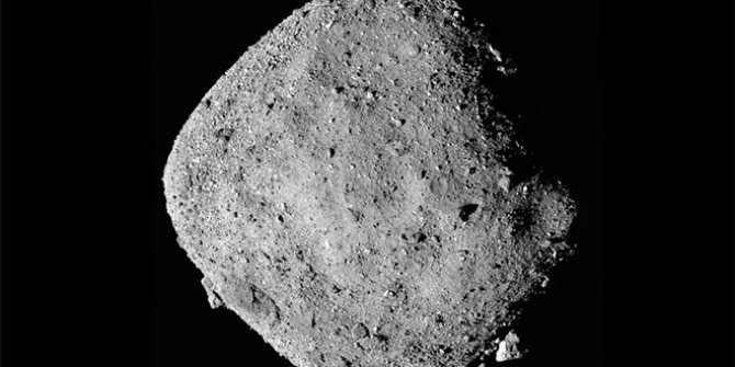 NASA uzay aracı Osiris-REX asteroit Bennu'ya iniyor...