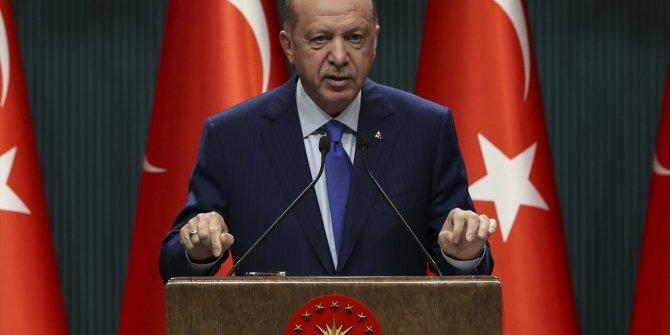 Erdoğan: 2053 vizyonu ile milletimizin karşısına çıkacağız