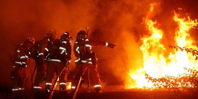 Hindistan'da kimyasal fabrikada büyük yangın