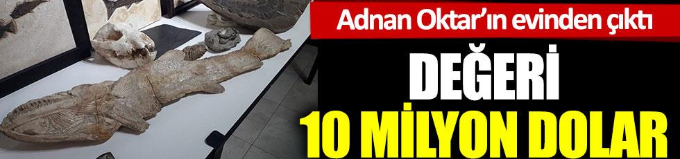 Adnan Oktar'ın evinden çıktı. Değeri 10 milyon dolar