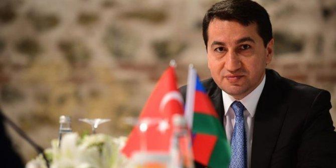 Azerbaycan Cumhurbaşkanı yardımcısı Hikmet Hacıyev açıkladı: Ermenistan'ın ilk savunma hattını PKK'lılar oluşturuyor