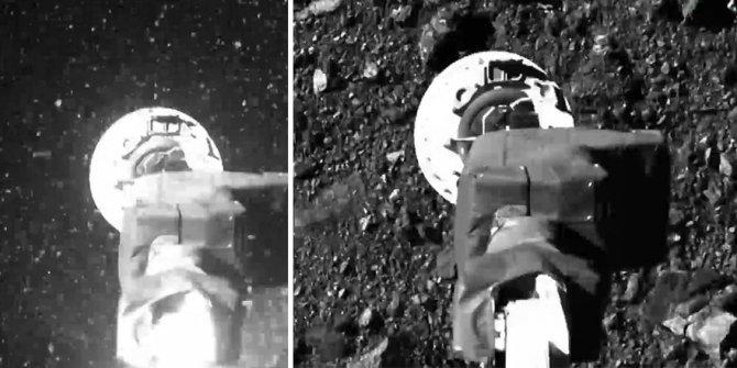 NASA'nın Bennu göktaşına gönderdiği OSIRIS-REx'ten yeni görüntüler. Gezegen henüz buna hazır değil