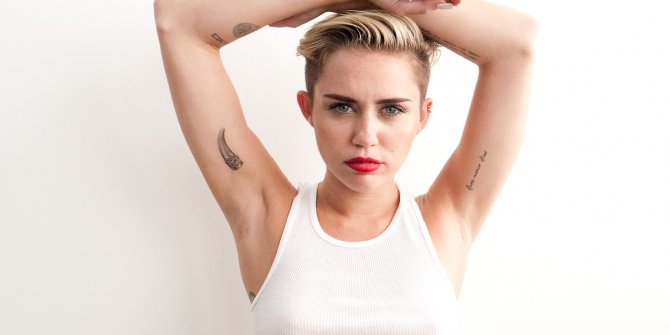 Dünyaca ünlü şarkıcı Miley Cyrus'u uzaylılar bizi kovalamış