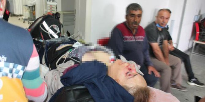 Aksaray'da koca dehşeti. Çocuklarının gözleri önünde vurdu, Firdevs'in yaşam savaşı sürüyor