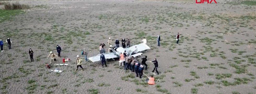 Valilik'ten düşen uçakla ilgili açıklama