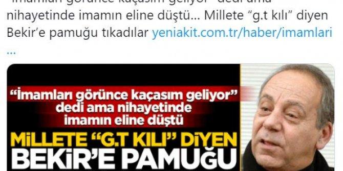 Yeni Akit yazarından Bekir Coşkun'a büyük saygısızlık: Basın tarihinin en iğrenç başlığını attı!