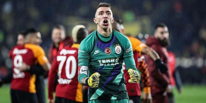 Galatasaray'a Fernando Muslera'dan sevindiren haber
