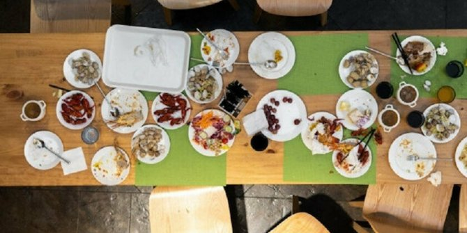 Masada 6 müşterinin oturduğu işletmeye 3 bin 150 lira ceza