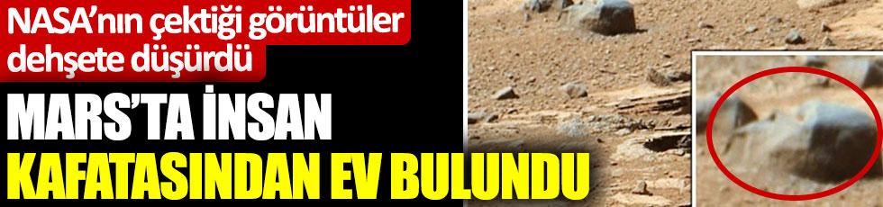 Mars'ta insan kafatasından ev bulundu. Kapı girişi bile vardı. NASA'nın çektiği fotoğraflar UFO avcılarını bile dehşete düşürdü