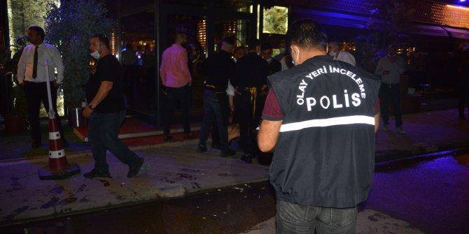 Restorandan çıkan  genç kadına silahlı saldırı
