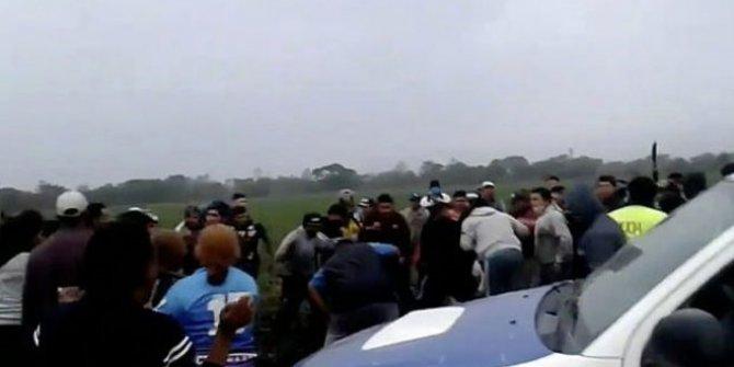 Arjantin'de öfkeli halkın intikamı korkunç oldu. Sapığı polisten önce buldular