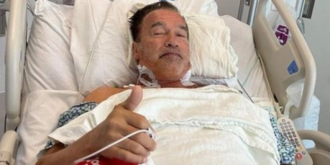 Terminatör'den korkutan haber: Arnold Schwarzenegger acil operasyon geçirdi