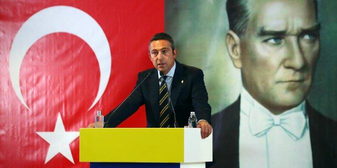 Yüksek Divan Kurulu'nda konuşan Fenerbahçe Başkanı Ali Koç sert çıktı. Bu işin sürüncemede kalması devletin bir ayıbıdır