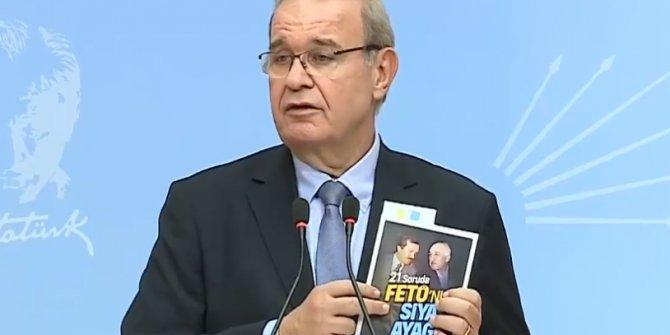 Faik Öztrak açıkladı, CHP'nin hazırladığı kitapçığa dağıtım yasağı geldi