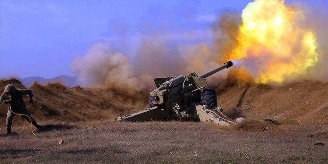 Azerbaycan ordusundan Ermenistan ordusuna büyük darbe. Mühimmatlar tükendi