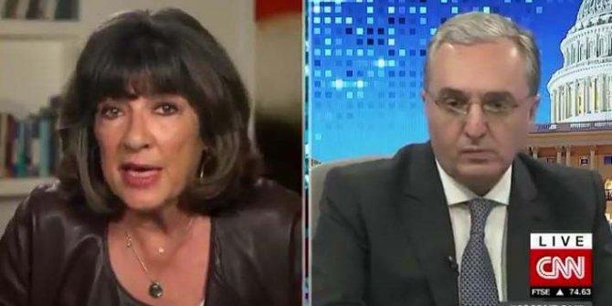 Ermenistan Dışişleri Bakanı canlı yayına çıktığına bin pişman. ABD'li gazeteci öyle bir soru sordu ki ne diyeceğini şaşırdı