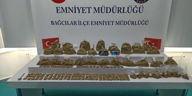 Bağcılar'da 18 kilogram uyuşturucu ele geçirildi