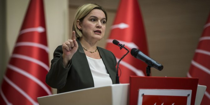 CHP Genel Sekreteri Selin Sayek Böke, gelecekteki büyük tehlikeye dikkat çekti ve uyardı