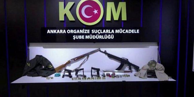 Ankara'da silahlı suç örgütüne operasyon: 11 kişi gözaltına alındı