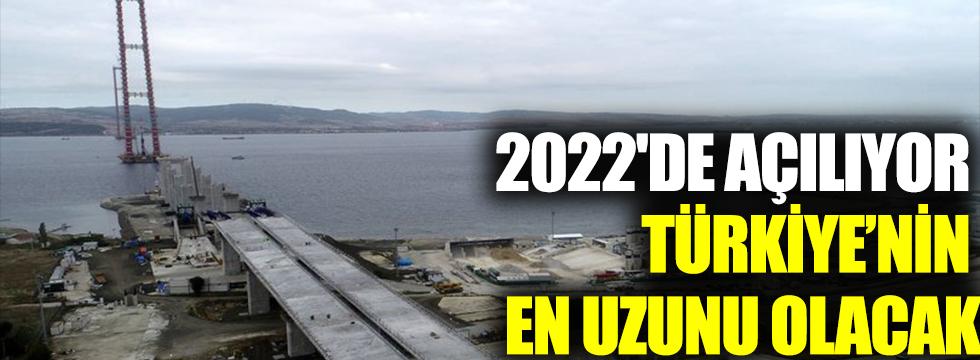 2022'de açılıyor... Türkiye'nin en uzunu olacak