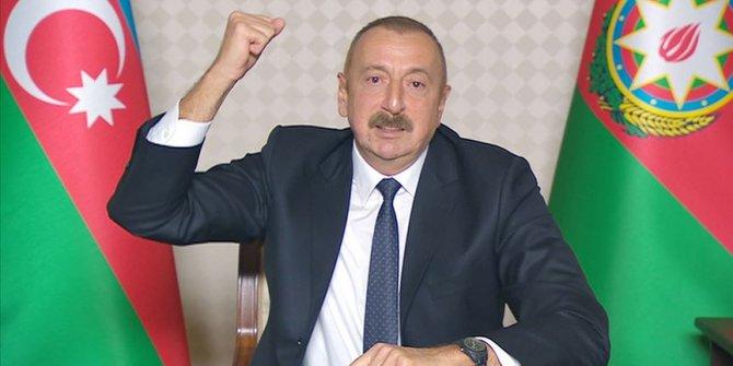 İlham Aliyev: Zengilan, Cebrail ve kubadlı'nın bir kısmı işgalden kurtarıldı