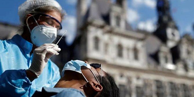 Fransa'da salgının başından bu yana Avrupa'nın en yüksek günlük vaka sayısı tespit edildi