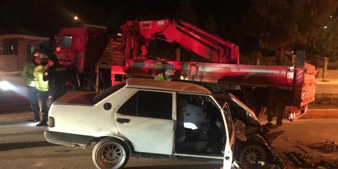 Aksaray'da polisin Dur ihtarına uymadı canından oldu