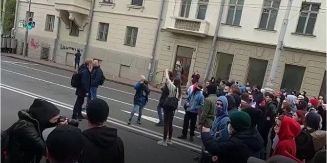 Belarus'ta 523 kişi gözaltına alındı