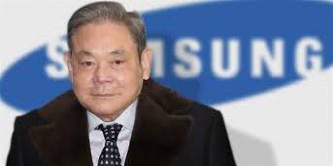 Samsung'da patron öldü hisseler tavan yaptı
