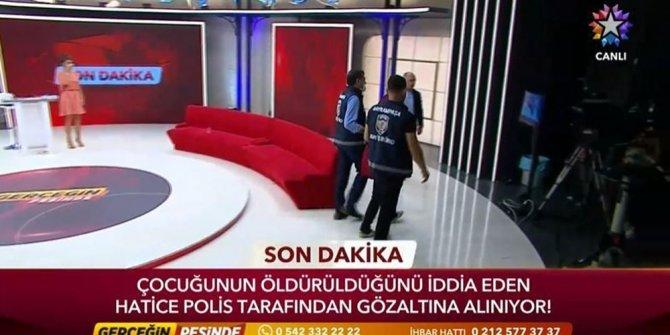Polis stüdyoyu bastı, canlı yayında tutuklama yaptı. Spiker dondu kaldı