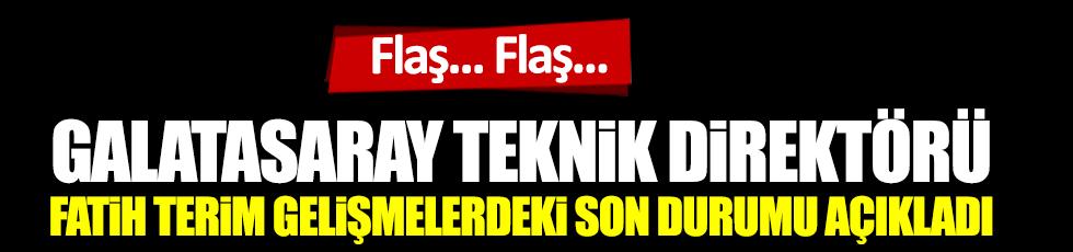 Flaş... Galatasaray Teknik Direktörü Fatih Terim'den son dakika paylaşımı