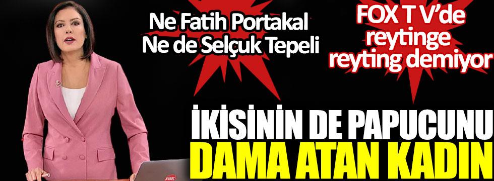 Ne Fatih Portakal ne de Selçuk Tepeli, ikisinin de pabucunu dama atan kadın, Gülbin Tosun FOX TV'de reytinge reyting demiyor!