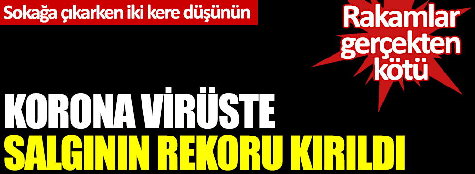 Sağlık Bakanı Koca, korona virüste son durumu açıkladı