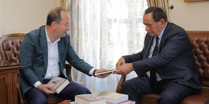 Alaattin Çakıcı'dan Edirne Belediye Başkanı Recep Gürkan'a ziyaret