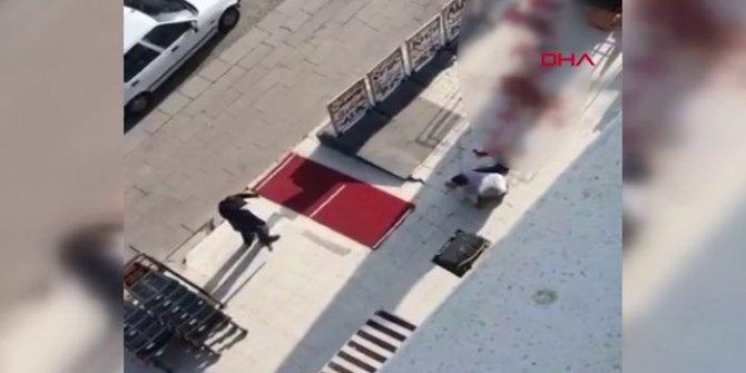 Ankara'da dehşet: Pompalı tüfekle vurup, başında bekledi!