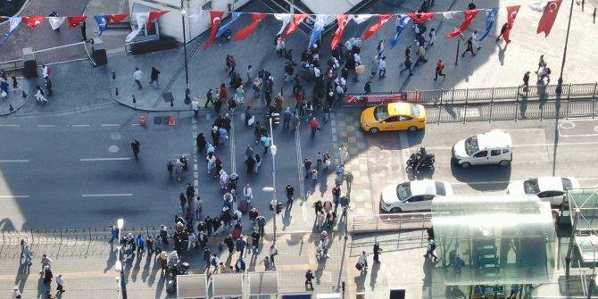 Mahmutpaşa'daki maskesiz vatandaşların savunmaları pes dedirtti