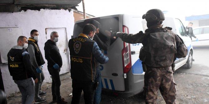 150 polis suçlulara savaş açtı