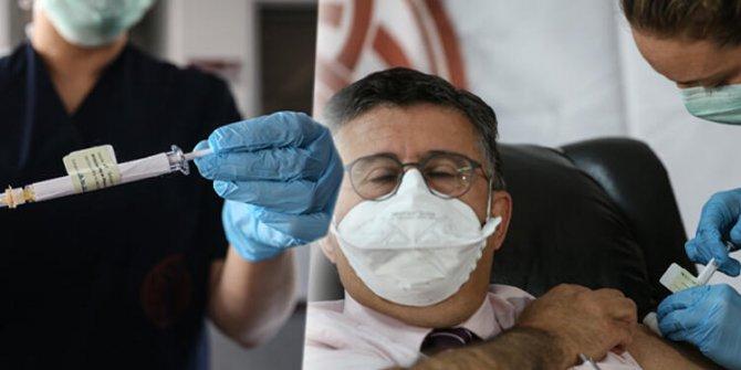 Korona virüs aşısında flaş gelişme ilk deneme ünlü profesör Mustafa Necmettin Ünal'a yapıldı!