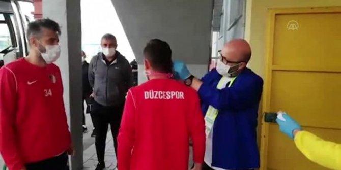 Düzcespor'da tam 16 futbolcunun testi pozitif çıktı