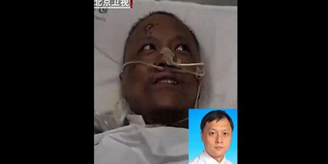 Korona virüs ten rengini değiştirmişti. İşte virüsü atlatan Çinli doktor Yi Fan'ın son görüntüsü