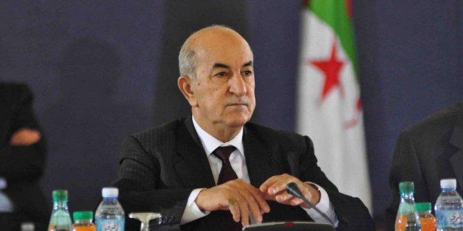 Cezayir Cumhurbaşkanı Tebbun'dan üzen haber
