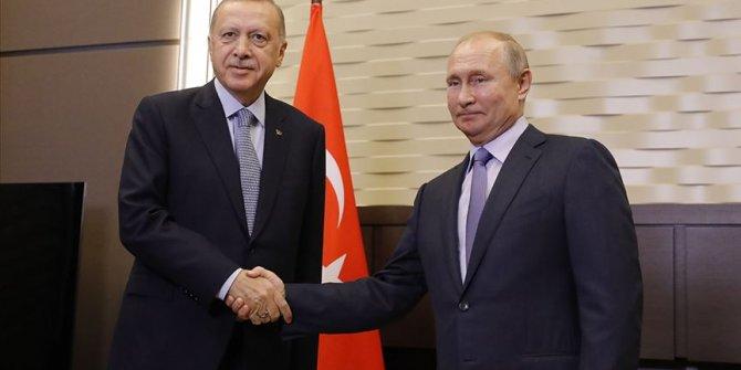 Erdoğan ile Vladimir Putin görüştü