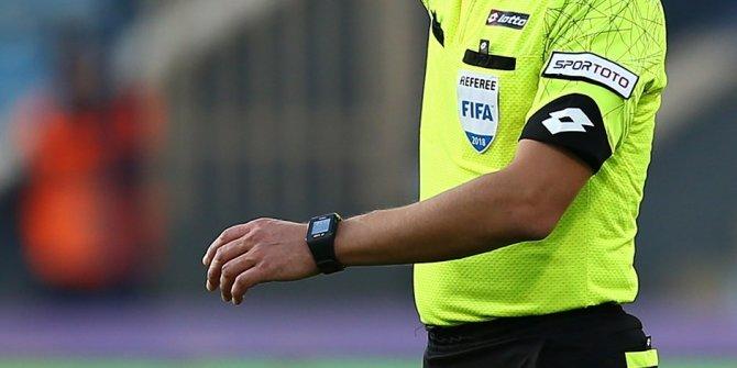 Süper Lig'de 7. hafta hakemleri açıklandı