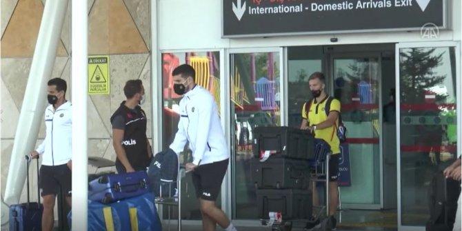 İsrail temsilcisi Maccabi Tel-Aviv Sivas'a geldi