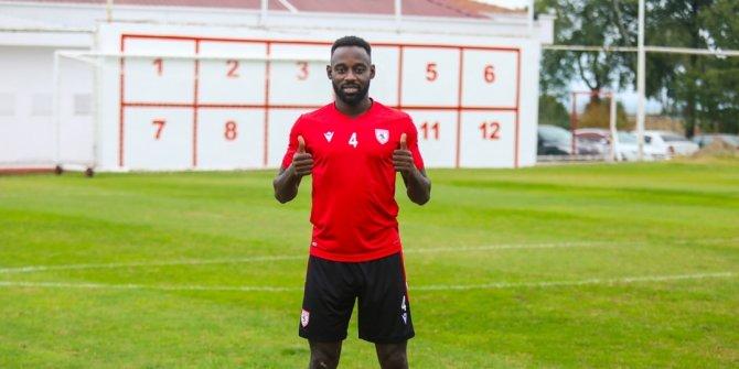 Samsunsporlu futbolcu Kevin Boli'nin gözü şampiyonlukta