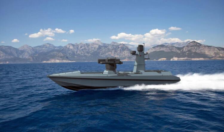 Gökyüzünde SİHA, denizlerde SİDA ULAQ... Türkiye'nin ilk insansız deniz aracı göreve hazır